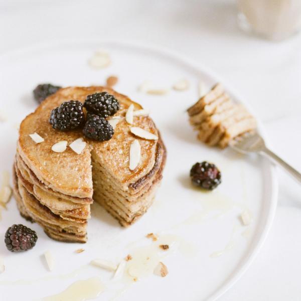 Wellness Retreat Vegan Pancakes