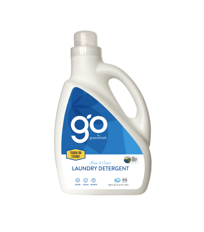 Enzyme Free & Clear Laundry Detergent