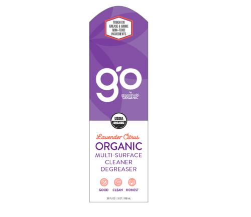Multi-surface label front organic